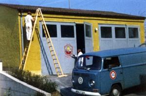 Gerätehaus bis 1987